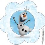 Flor Olaf Frozen