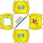Forminhas Docinhos Flor Bob Esponja - Um Herói Fora D'Água