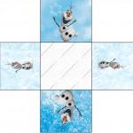 Forminhas Docinhos Olaf Frozen