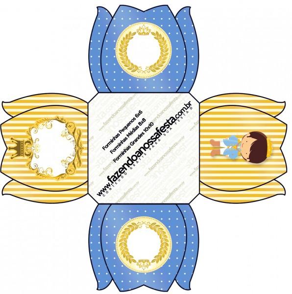 Forminhas Docinhos Príncipe Moreno
