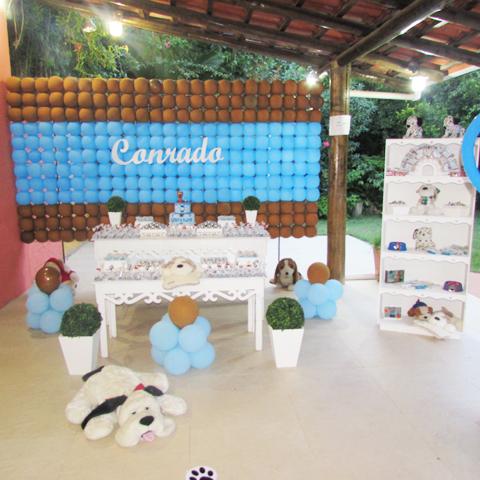 Decoração Festa Cachorrinhos do Conrado