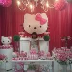 Bolo e Doces Festa Hello Kitty da Jéssica