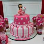 Bolo Festa Hello Kitty da Jéssica