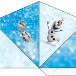 Cone Guloseimas Olaf Frozen