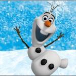 Tubetes Olaf Frozen