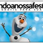 Lápis Olaf Frozen