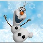 Lata de Leite Olaf Frozen
