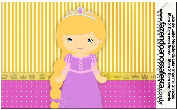 Lata de Leite Princesa Loira