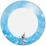 Latinhas Olaf Frozen