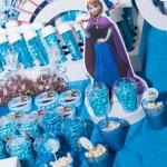Latinhas e Doces Festa Frozen da Letícia