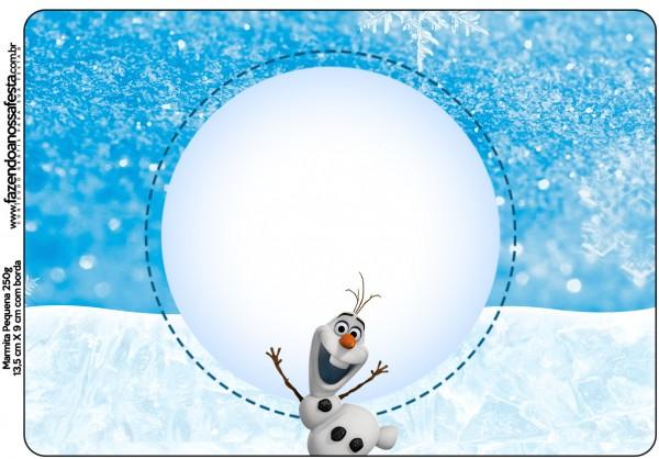 Marmita 250g Olaf Frozen