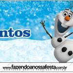 Mentos Olaf Frozen