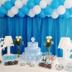 Mesa de Doces Azul Tiffany