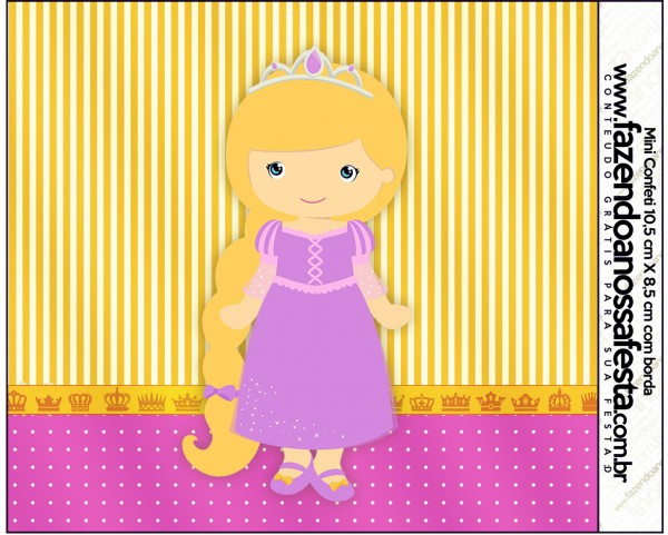 Mini Confeti Princesa Loira