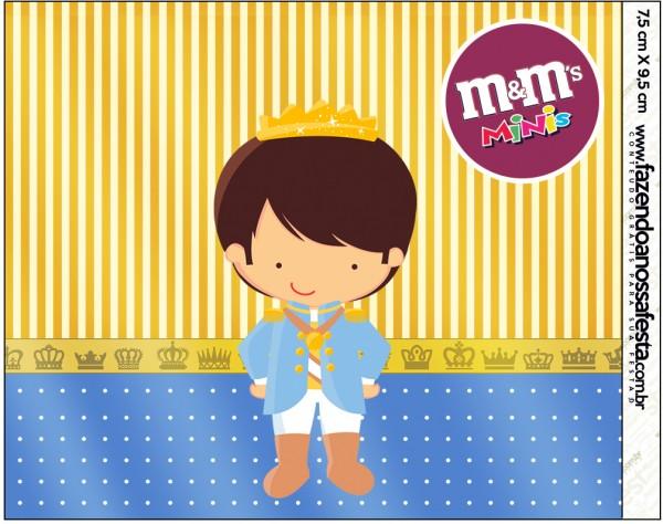 Mini M&M Príncipe Moreno