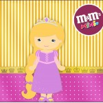 Mini M&M Princesa Loira