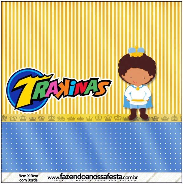 Mini Trakinas Príncipe Afro