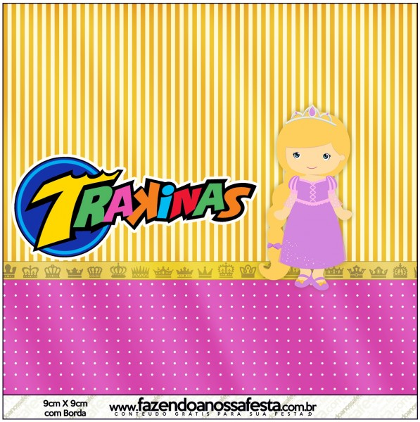 Mini Trakinas Princesa Loira