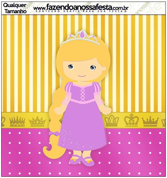 Molde Quadrado Princesa Loira