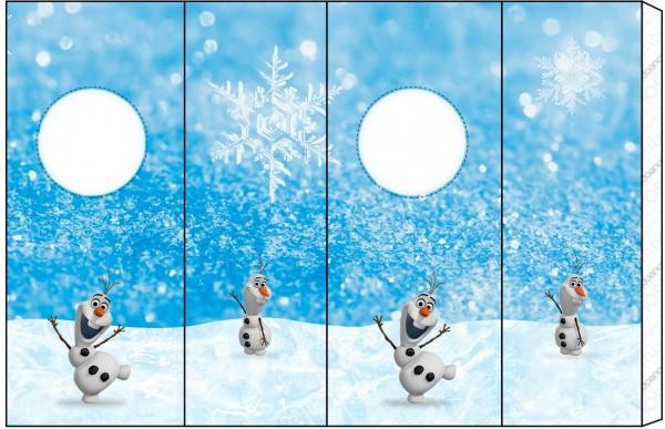 Nescauzinho Olaf Frozen