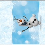 Pé de Moleque Yoki Olaf Frozen