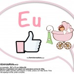 Plaquinhas Divertidas Chá de Bebê Menina 6