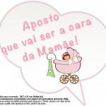 Plaquinhas Divertidas Chá de Bebê Menina 8