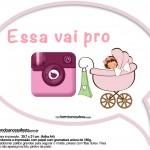 Plaquinhas Divertidas Chá de Bebê Menina 9