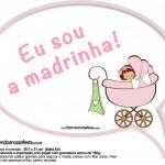 Plaquinhas Divertidas Chá de Bebê Menina 16