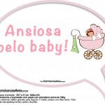 Plaquinhas Divertidas Chá de Bebê Menina 20