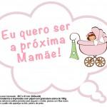 Plaquinhas Divertidas Chá de Bebê Menina 22