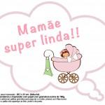 Plaquinhas Divertidas Chá de Bebê Menina 23