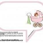 Plaquinhas Divertidas Chá de Bebê Menina 28