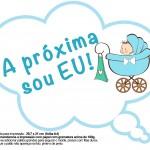 Plaquinhas Divertidas Chá de Bebê Menino 1