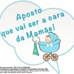 Plaquinhas Divertidas Chá de Bebê Menino 7