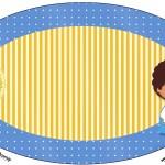 Placa Elipse Príncipe Afro