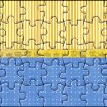Quebra-cabeça Fundo Príncipe Azul e Dourado