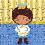 Quebra-cabeça Príncipe Afro
