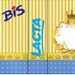Rótulo Bis Duplo Fundo Príncipe Azul e Dourado