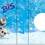 Rótulo Bis Duplo Olaf Frozen