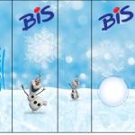 Rótulo Bis Olaf Frozen