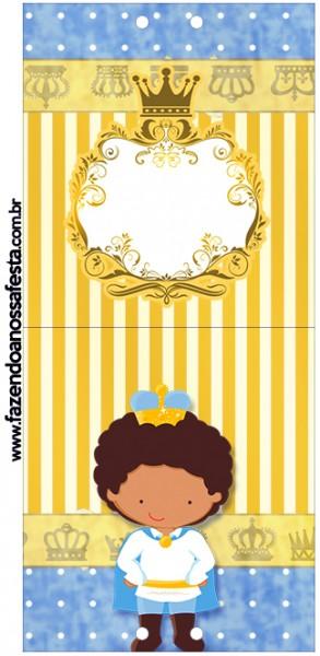 Rótulo Pirulito Príncipe Afro
