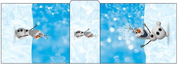 Rótulo Tic Tac Olaf Frozen