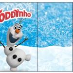 Rótulo Toddynho Olaf Frozen