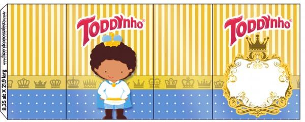 Rótulo Toddynho Príncipe Afro