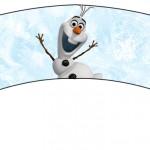 Saias Wrappers para Cupcakes Olaf Frozen 1