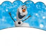 Saias Wrappers para Cupcakes Olaf Frozen