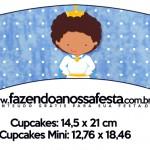 Saias Wrappers para Cupcakes Príncipe Afro