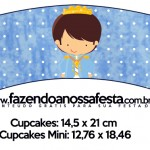 Saias Wrappers para Cupcakes Príncipe Moreno