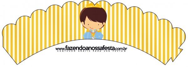 Saias Wrappers para Cupcakes Príncipe Moreno 2